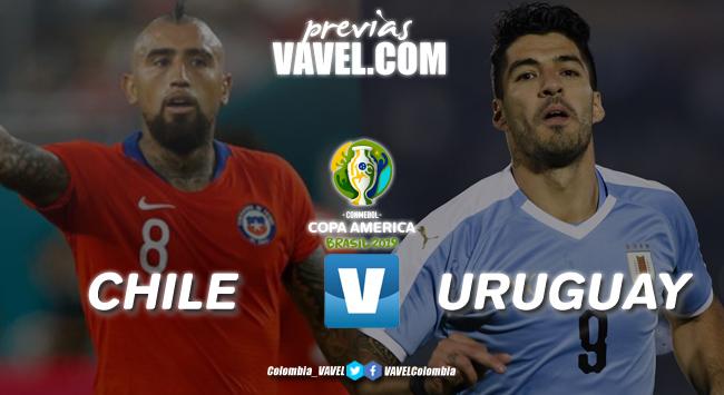Previa Chile Vs Uruguay: duelo para definir al ganador del grupo C
