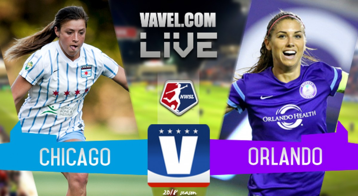 Score: Chicago Red Stars 2-5 Orlando Pride in an eventful Lifetime Game of the Week