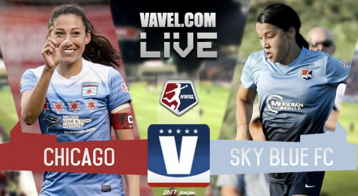 Results and Goals Chicago Red Stars 2-1 Sky Blue FC in 2017 NWSL