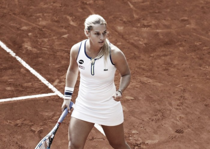 WTA Madrid: Dominika Cibulkova comes back from set and break down to outlast Caroline Garcia