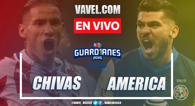 Chivas vs América EN VIVO transmisión online AHORA (0-0)