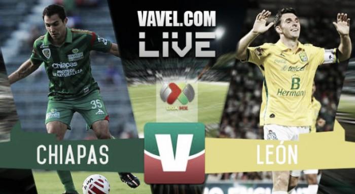 Resultado y goles del Chiapas (0-0) León de la Liga MX 2017