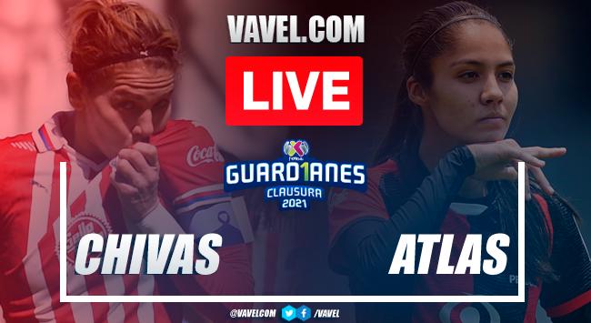 Goals and highlights: Chivas 2-1 Atlas in 2021 Liga MX Femenil Guard1anes