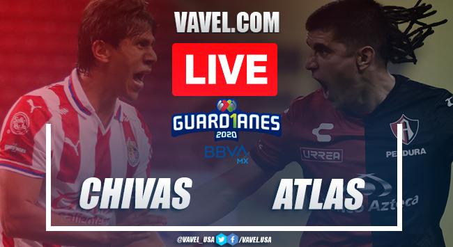 Goals and Highlights of Chivas 3-2 Atlas on Guard1anes 2020 Liga MX
