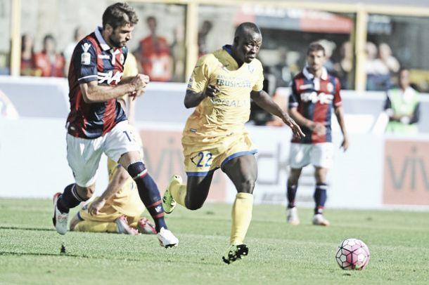 """Frosinone, Chibsah: """"Il nostro Scudetto è la salvezza. Contro la Lazio per fare risultato"""""""