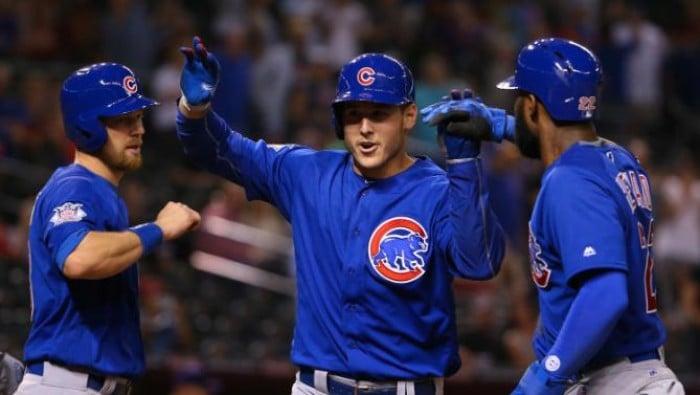 Chicago Cubs Rally Past Arizona Diamondbacks Escaping With Win