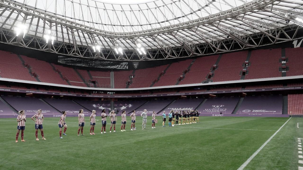 Las chicas del Atleti caen ante el Barça en Champions