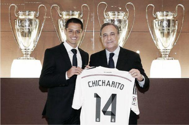 Javier Hernandez signs for Real Madrid