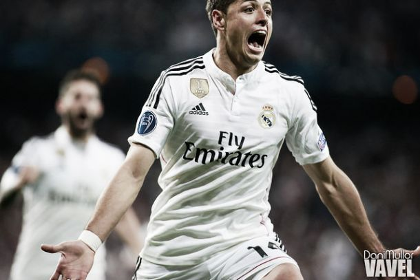 Real Madrid nas meias-finais: Classe de Ronaldo no golo de Chicharito