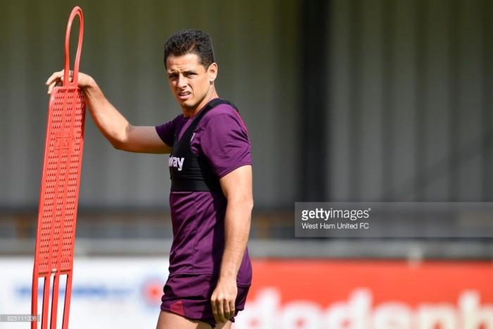 Hernandez unsure if he'll celebrate a goal on return to Old Trafford