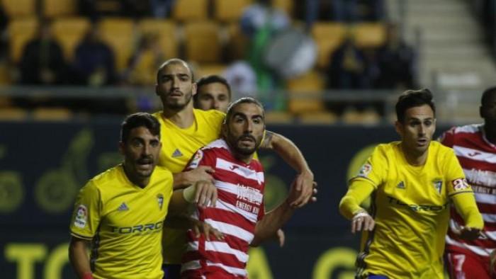 Cádiz CF - Granada CF: puntuaciones del Granada CF, jornada 21 de Segunda División