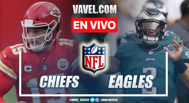 Resumen y anotaciones del Chiefs 42-30 Eagles en NFL 2021