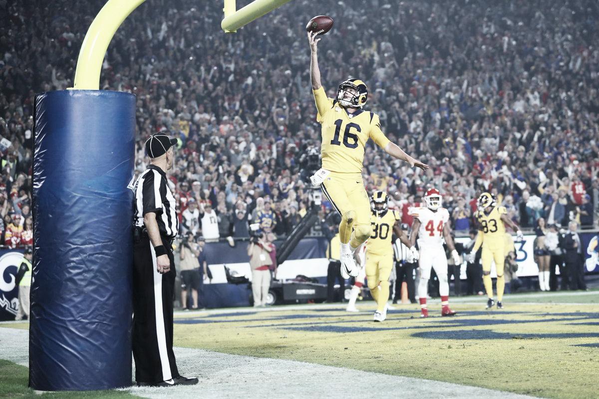 ¿Super Bowl adelantado? Festival de puntos con victoria para los Rams