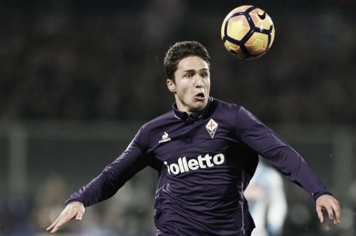 """Fiorentina, Chiesa: """"Sono pronto a tornare. Crediamo ancora all'Europa"""""""