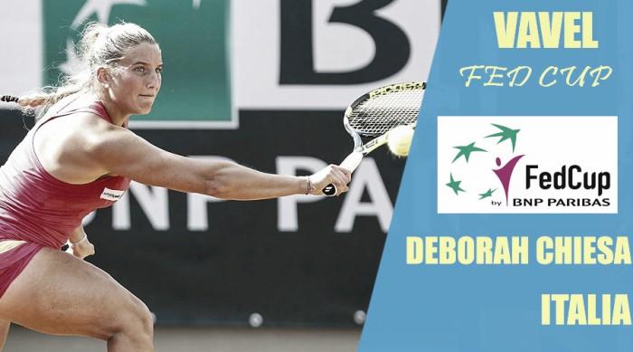 Fed Cup 2018. Deborah Chiesa: hambre de gloria