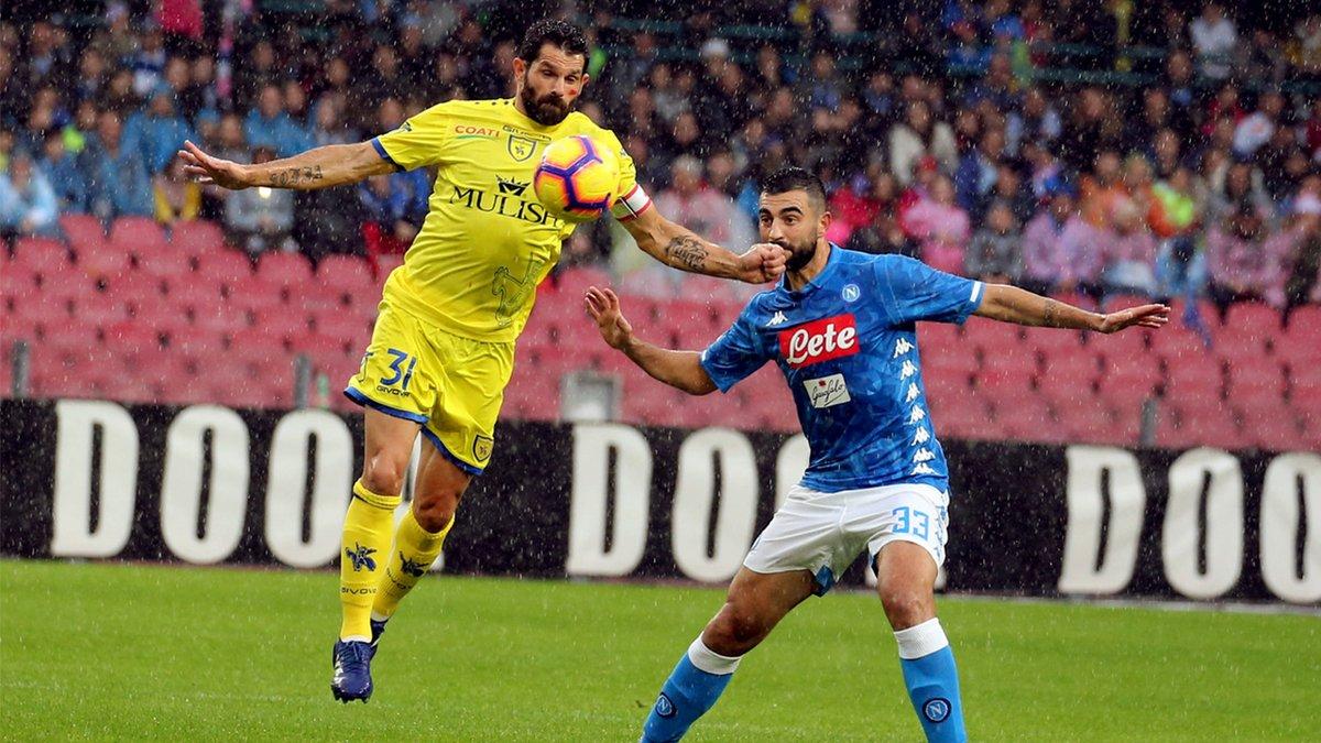 Serie A- Il Napoli sbatte sul nuovo Chievo di Di Carlo e su Sorrentino: al San Paolo è 0-0