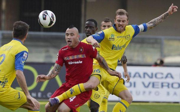 Diretta Chievo - Cagliari, live della partita di serie A