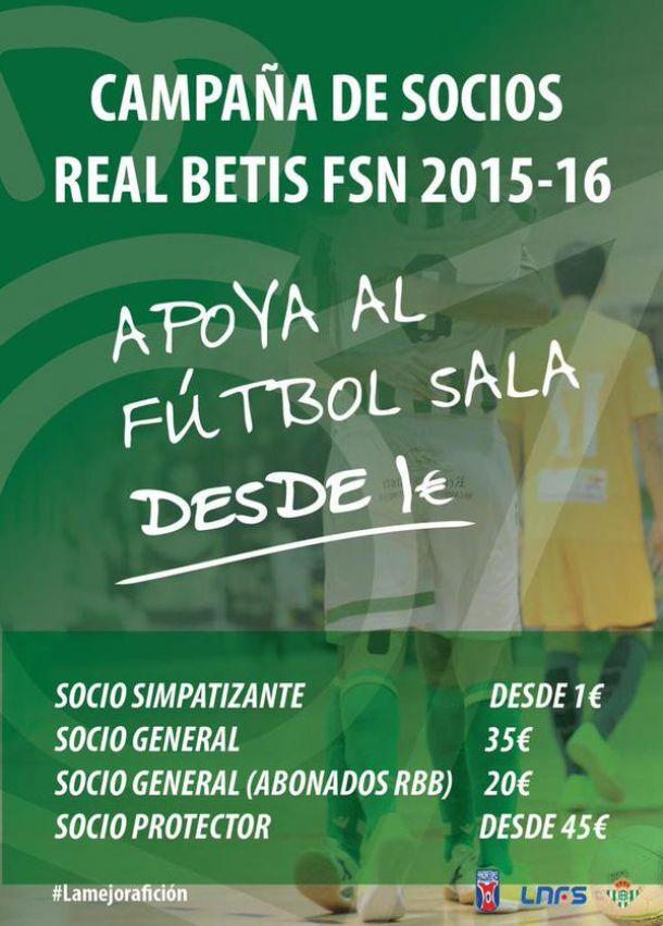 Presentada la campaña de abonados del Real Betis FSN, #ApoyoalFSN