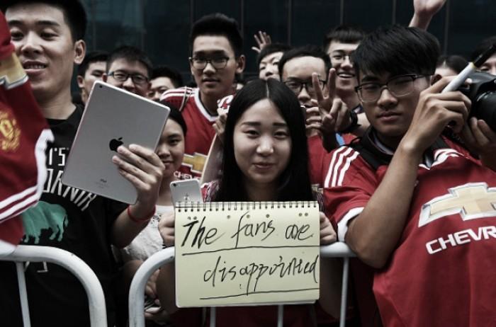 Partida entre Manchester City e United é cancelada na China devido à forte chuva