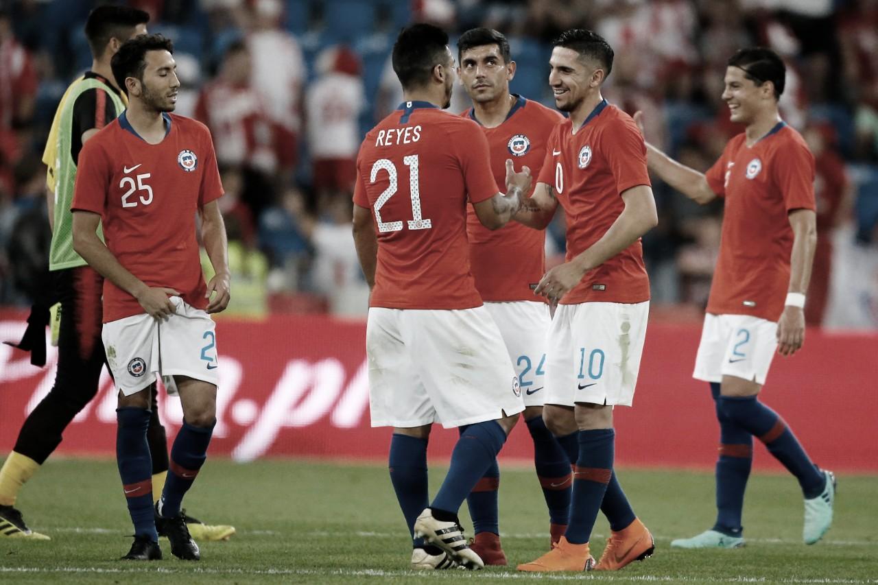 Así llega la Selección de Chile al encuentro ante Colombia