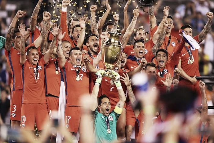Superação foi a palavra-chave para o Chile na Copa América