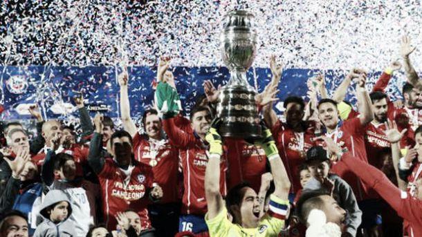 ¡Chile campeón de América!