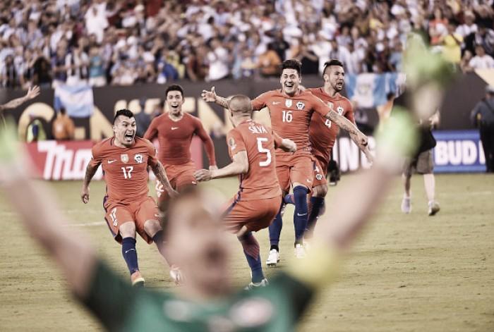 Bravo brilha, Messi perde pênalti e Chile bate Argentina para conquistar a Copa América Centenário