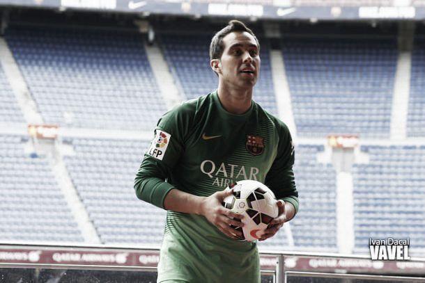 Lesão de Claudio Bravo afasta guardião do duelo contra o Atlético Madrid