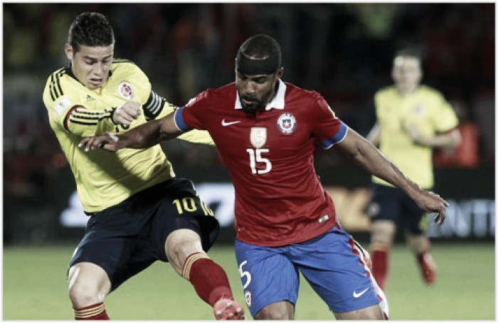 Colombia- Chile, semifinal de quilates en la Copa América Centenario