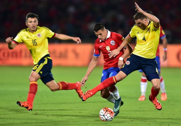 Chile 1-1 Colombia: James Rodriguez Equalizer Salvages Draw For Los Cafeteros