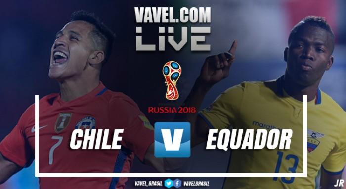 Resultado Chile 2x1 Equador pelas Eliminatórias Sul-Americanas