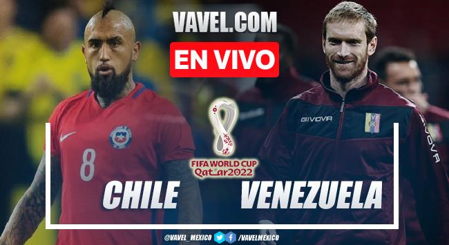 Goles y resumen del Chile 3-0 Venezuela en Eliminatorias CONMEBOL 2022