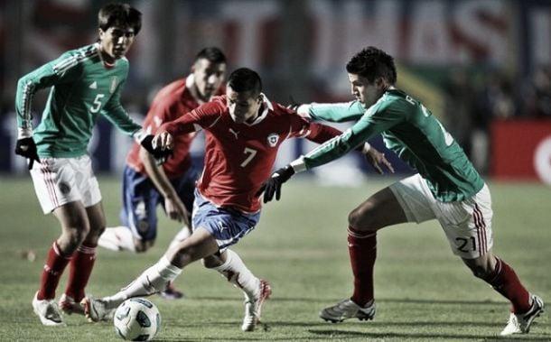 Chile no puede ante la Concacaf