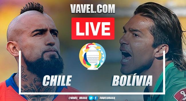 Gol e melhores momentos Chile x Bolívia pela Copa América 2021 (1-0)