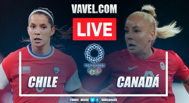 Goals and highlights from Chile 1-2 Canada, Tokyo Olympics