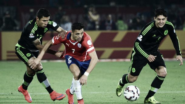 Arsenal in Action: Chile 3-3 Mexico