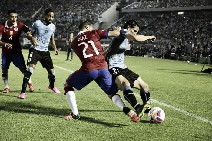 Chile e Uruguai se enfrentam com focos diferentes nas Eliminatórias