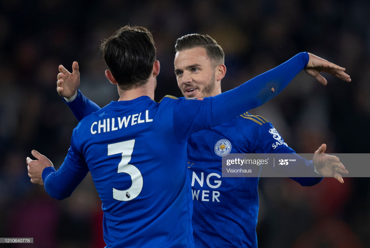 Ben Chilwell is 'rearing to go'