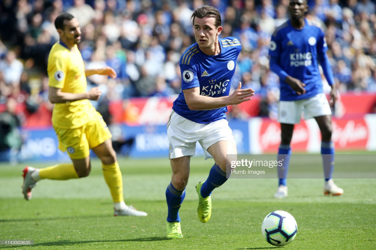 Leicester defender Ben Chilwell linked with a shock move to Chelsea