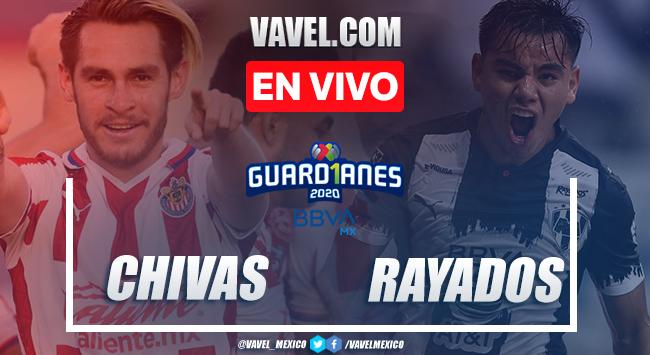 Goles y Resumen: Chivas 3-1 Rayados en Liga MX