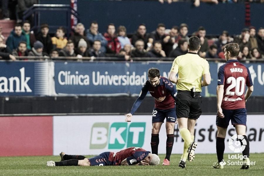 Chimy Ávila se rompe el ligamento cruzado y dice adiós a la temporada