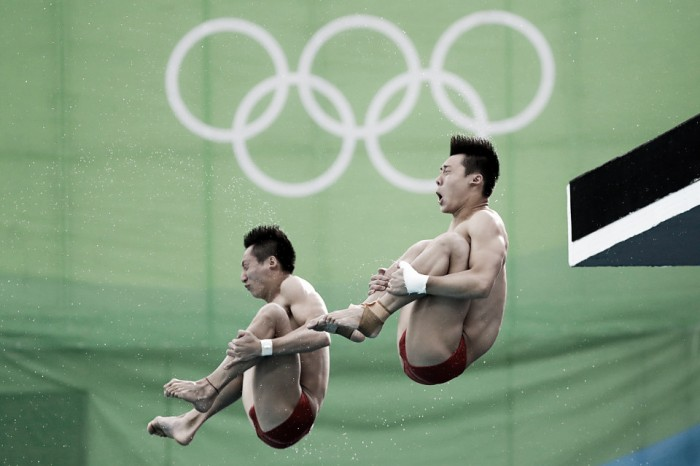 Rio 2016: China run away for gold in diving as British duo pick up bronze