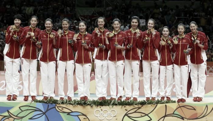 China é campeã olímpica de vôlei feminino