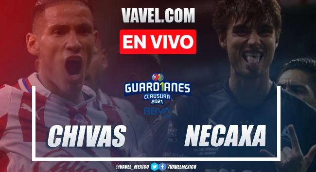 Goles y resumen: Chivas 2-2 Necaxa en Liga MX 2021