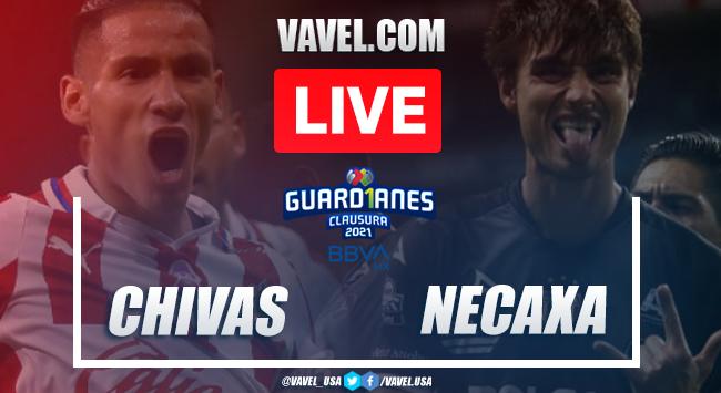 Goals and Highlights: Chivas 2-2 Necaxa on Liga MX 2021