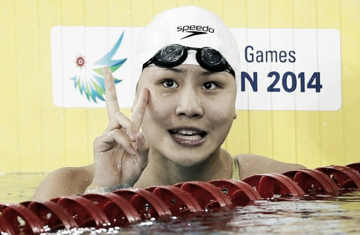 Quarta colocada nos 100m borboleta, chinesa é pega no doping