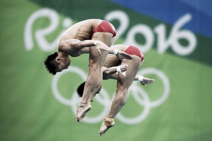 China mostra superioridade nos saltos ornamentais e leva mais um ouro