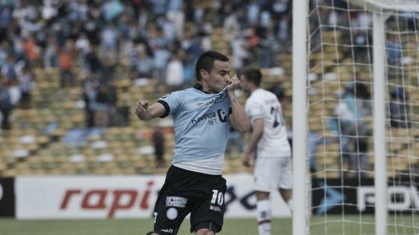 """Lucas Zelarrayan: """"Se ganó un partido importante, nos vamos todos muy contentos"""""""