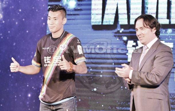 Zhang Chengdong presentado en Nanjing