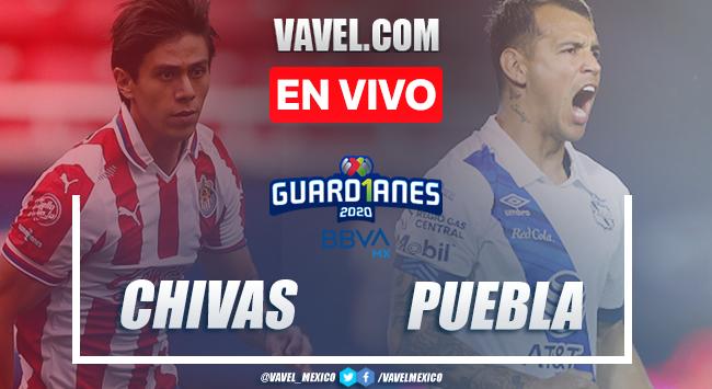 Chivas vs Puebla EN VIVO: cómo ver transmisión TV y online en Liga MX 2020
